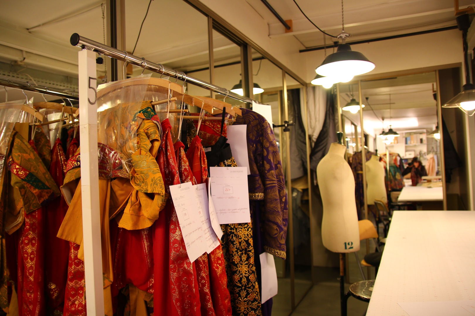 More than 200 costumes, for one single ballet!