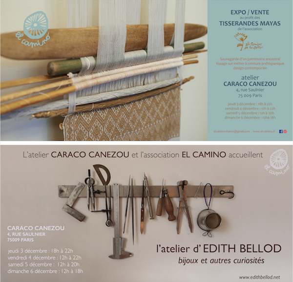 EL CAMINO: Exhibition and sales of Maya fabric' creations